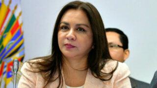 Marisol Espinoza oficializa su renuncia a la bancada de Gana Perú
