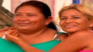 Volverte a ver: dos hermanas se reencuentran tras 45 años