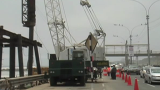 Miraflores: se iniciaron obras de malecón en Costa Verde