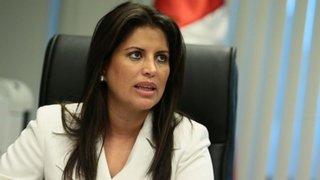 Comisión de Ética recomienda suspender 30 días a Carmen Omonte