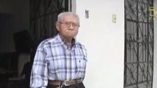 Delincuentes roban pensión a jubilado en el Rímac