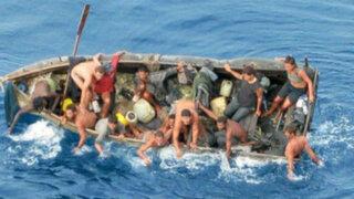 EEUU: rescatan a balseros cubanos tras 10 días de naufragio