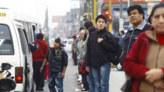 Transportistas de Lima y Callao convocan paro de 24 horas este jueves 29