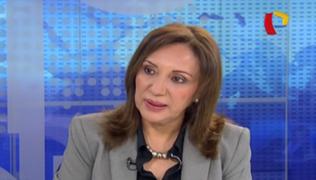 Julia Príncipe evaluará tomar acciones legales contra Gustavo Adrianzén