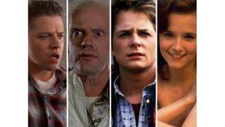 Volver al Futuro II: actores se reunieron hoy luego de 30 años