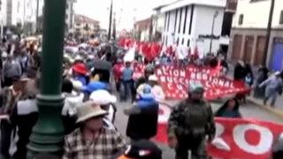Cusco: pobladores exigieron derogatoria de decreto sobre administración de patrimonio