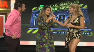 ¿Sandra Vergara regresó para arrebatarle el puesto a Viviana Rivasplata?