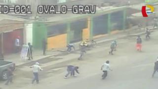 Cañete: violenta pelea de construcción civil por obra