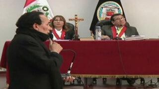 Autor material de asesinato de Hugo Bustíos ahora no recuerda si Urresti participó