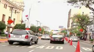 Miraflores: desvíos por obras de parqueo subterráneo