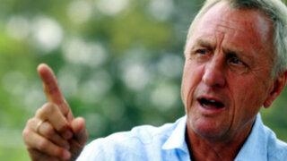El drama de Johan Cruyff: La leyenda del fútbol lucha contra el cáncer