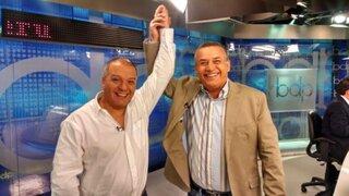 Daniel Urresti y Milton Von Hesse juntos en Buenos Días Perú