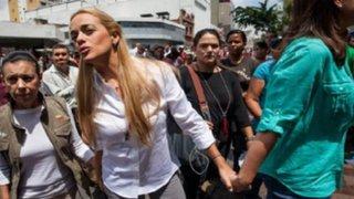 Leopoldo López: esposa pide anulación de su condena tras revelación de fiscal