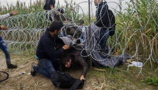El drama de los refugiados que huyen del sangriento conflicto en Siria