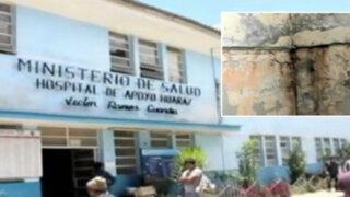 Áncash: hospital de Huaraz en pésimo estado ante llegada de 'El Niño'
