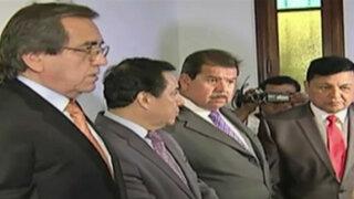 Partidos políticos firman Pacto por la democracia