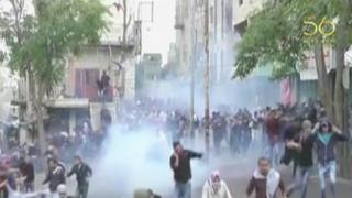 Israel: Policía dispersa con violencia a protestantes en Hebrón