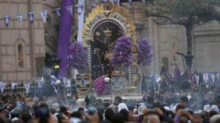 Señor de los Milagros realizó su cuarto recorrido procesional
