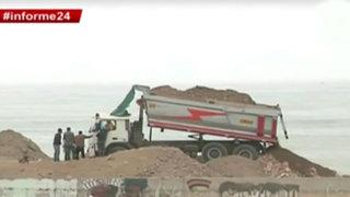 Informe 24: costas del Callao se han convertido en botaderos de desmonte