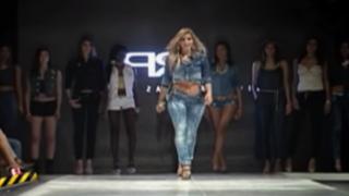 Viviana Rivasplata regresa a las pasarelas para presentar colección de jeans