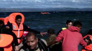 Grecia: buscan a inmigrantes desaparecidos en el mar