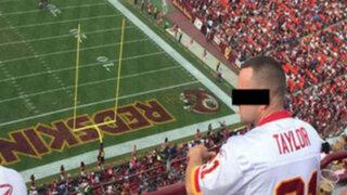 FOTO: captan a mujer haciéndo sexo oral a su novio en pleno estadio