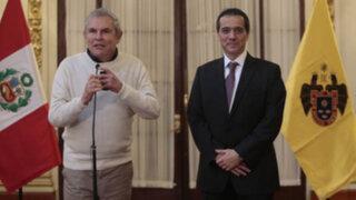 """Alcalde Castañeda: """"Reunión con Segura fue positiva y de trabajo"""""""