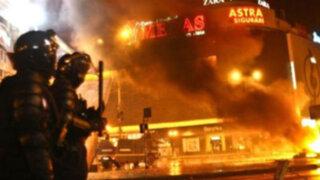 Rumania: incendio en discoteca deja 27 muertos y 155 heridos