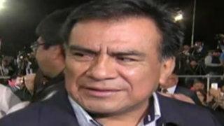 Velásquez Quesquén retira polémico proyecto que amordazaba a la prensa