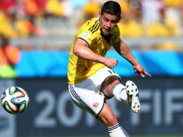 Colombia desconvoca a James Rodríguez por lesión