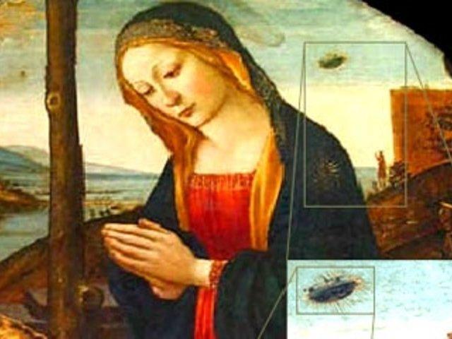Ovnis en la historia: increíbles hallazgos en famosas obras de arte