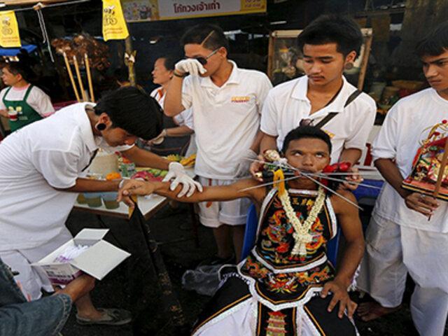 FOTOS: ¿Este es el ritual religioso más extremo de todo el mundo?