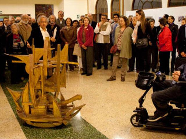 """Inauguraron exposición colectiva """"Arte y espiritualidad 2015"""""""