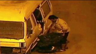 Los Olivos: detienen a ladrón de autopartes y raqueteros