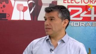 """Candidato Julio Guzmán: """"Nosotros eliminaremos el cargo de primera dama"""""""
