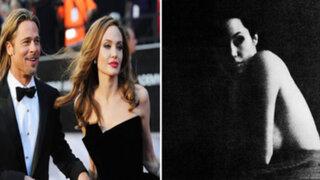 FOTOS: la intimidad de Angelina Jolie plasmada en imágenes capturadas por Brad Pitt