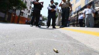 Balacera en el Callao dejó un muerto y tres heridos