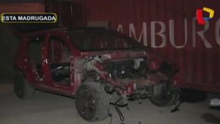 Callao: intervienen almacén usado para desmantelar vehículos