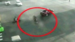 Surco: alertan sobre incremento de accidentes de motociclistas