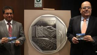 Presentan la nueva moneda de S/.1 alusiva a sitio arqueológico de Huarautambo