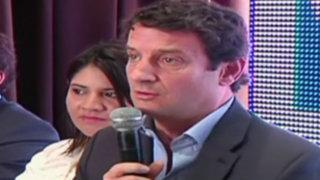 Renzo Reggiardo descarta alianzas para las elecciones