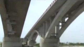 Cañete: otros dos puentes en mal estado en la Panamericana Sur