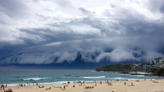 Australia: impresionante formación de tormenta causó pánico en Sydney