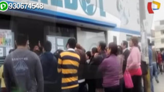 Los Olivos: cientos de asegurados protestan por falta de atención