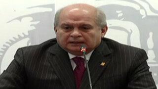 Premier Cateriano reitera que no hay temas limítrofes pendientes con Chile