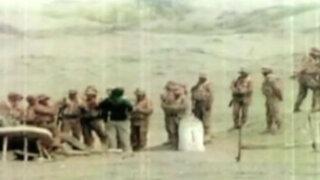 Chile: muestran supuestas fotos de militares peruanos en Hito 1