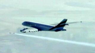 Dubái: la espectacular coreografía aérea de los 'jetmans'