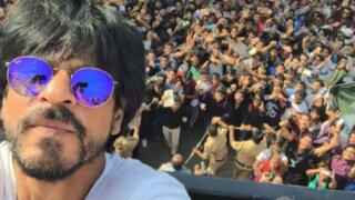 Al Sexto Día en la fiesta por los 50 años de Shahrukh khan