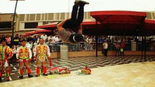 Del Perú para el mundo: El duelo entre danzantes de tijera y breakdancers