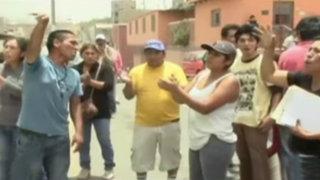 Vecinos de Huarochirí atacan comisaría por falta de apoyo policial